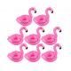 Porte verre gonflable flamant rose *237