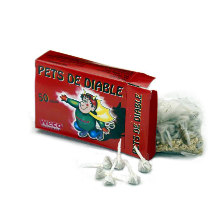 Pêts de diable  lot de 2 boites *256