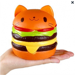 Squichies burger chat kawaii /réf 286