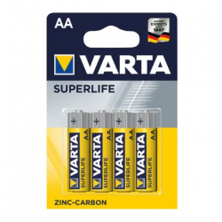 Pile AA  x4 VARTA superfife ID 494