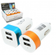 Chargeur allume cigare 2 ports USB ID 408