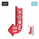 Déco lumineuse Home this way ID 722