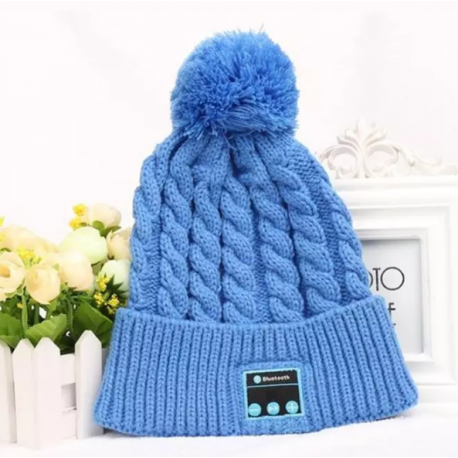Bonnet en laine bluetooth
