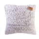 Coussin Sherpa gris clair ID 993
