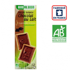 Biscuits chocolat au lait BIO France 150grs ID 1062