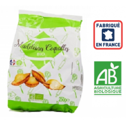 Madeleines coquilles BIO, 250grs ID 1053