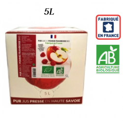 Pur jus Pomme Framboise BIO France 5L ID 1090
